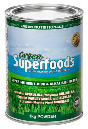 Green Nutritionals Green Superfoods Powder 1kg